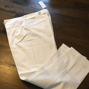 NWT! Ann Taylor LOFT White Marisa Dress Pants